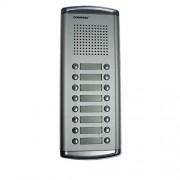 Interfon de exterior Commax DR-16AM, 16 familii, 12 V, ingropat