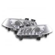 FK-Automotive faro Daylight Renault Megane 2 3/5 porte anno di costr. 03-06 cromato