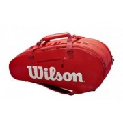 WILSON Super Tour Large 2 Fack röd