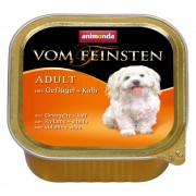 6x150г Adult Animonda vom Feinsten, консервирана храна за кучета - пуешко и агнешко месо