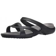 crocs Women's Meleen Twist Sandal W Dress Sandal Black/Smoke -W9
