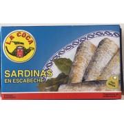 Sardinas en escabeche La Coca RR-125