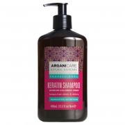 Arganicare Shampooing réparateur et nutritif Kératine tous types de cheveux - 400 ml