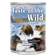 6 x 390 g Taste of the Wild Pacific Stream comida húmeda para perros
