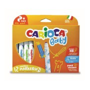 Carioci lavabile 12 culori/set CARIOCA Baby 2