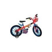 Bicicleta Infantil Liga da Justiça Mulher Maravilha Aro 16 - Brinquedos Bandeirante