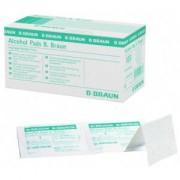 Braun B. Braun Alcohol Pads Alkoholtupfer, Einmal-Alkoholtupfer zur Hautreinigung, 1 Packung = 100 Stück
