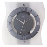 Luxusní designové skleněné hodiny JVD N12