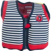 Konfidence Vesta inot copii cu sistem de flotabilitate ajustabil The Original blue stripe 4 5 ani