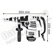 Perforateur burineur + mandrin interchangeable GBH 3-28 DFR L-BoxxBOSCH 061124A004