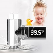 360° Rotating LED Digital Intelligent Shower Thermometer