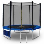 Батут Buba 366 см с външна мрежа и стълба