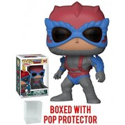 Funko Pop! Television: Masters of the Universe - Stratos Vinyl Figure (Bundled with Pop BOX PROTECTOR CASE)