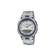 Relógio Masculino Casio Prata Ana-Digi AW-80D-7A2VDF