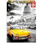 Educa 1000 Pc Taxi In La Havana, Cuba Puzzle