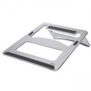 Поставка за лаптоп Hama Aluminium, до 15.4 инча, сребрист, HAMA-53059
