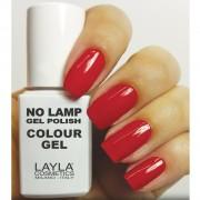 Layla - no lamp gel polish - smalto 8 red vegas
