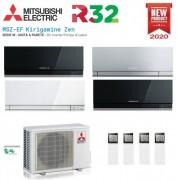 Mitsubishi Electric Quadri Split Inverter Kirigamine Zen 9+9+9+12 Con Mxz-4d72va