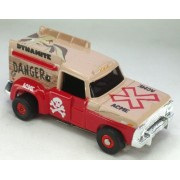 Auto World 255 1967 Ford Ice Cream Truck Wile E. Coyote Red Thunder Jet Ultra G Ho Slot Car