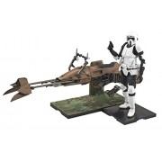 Star Wars 1/12 scout trooper and speeder bike