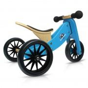 Kinderfeets Tiny Tot 2u1 drveni balans bicikl plavi