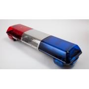 Pachet Rampa luminoasa girofaruri flash stroboscopice xenon + Sirena + Difuzor 100W