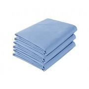 Colchas Concord Ultra Cotton Juego de Sábanas Ultra Cotton Azul Mediterraneo Individual