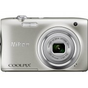 Nikon Coolpix A100 Digitalkamera 20.1 Megapixel Zoom (optisk): 5 x Silver Full HD Video