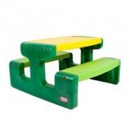 Маса за пикник жълто и зелено, Литъл Тайкс, 320014