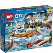 Lego City: Guardacostas: Cuartel general (60167)