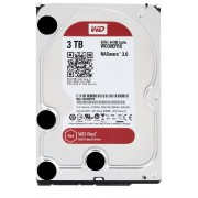 "Western Digital WD Red NAS Hard Drive WD30EFRX - Disco rígido - 3 TB - interna - 3.5"" - SATA 6Gb/s - buffer: 64 MB - para My Cloud EX2, EX4"