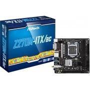Asrock Z270M-ITX/ac moederbord LGA 1151 (Socket H4) Mini ITX Intel® Z270