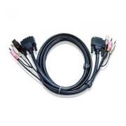 DVI D kábel KVM-hez 3 m, 2L-7D03UI (1013065)