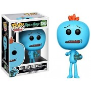FUNKO POP! Vinyl: Rick & Morty: Mr. Meeseeks w/ Box (Exc)