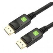 Techly Cavo Audio/Video DisplayPort M/M 2 m Nero