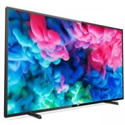 Телевизор Philips 50 инча Ultra HD, DVB-T2/C/S2, HDR+, SmartTV, Saphi, Quad Core, 4GB, Pixel Precise Ultra HD, 900 PPI, Natural Motion, 100Hz FR, Micr