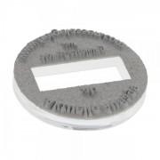 Colop Textplatte für Colop Classic Line R 2045 Dater(Ø 45 mm - 6 Zeilen)