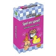 Schoolsupport Quiz It! Junior: Spel en speel! (Spellingraadsels varia)