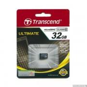 Micro SD Card, 32GB, Transcend MICRO, Class10 (TS32GUSDC10)