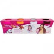 Комплект Моделин - Маша и мечока, Simba, 040126