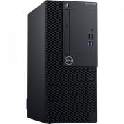 PC Dell OptiPlex 3060, crna, Intel Core i3 8100 3.6GHz, 1TB HDD, 4GB, Intel UHD 630, Windows 10 Professional, MT, 36mj, Tipk., Miš, 210-AOIB_i34W
