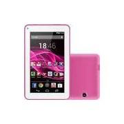 Tablet Multilaser ML Supra 8GB Wi-Fi Tela 7 Android 4.4 Quad Core - Rosa