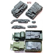 1/72 US Army GMC truck cargo set # 2 [72AT2] 1/72 Allied Truck BlobsAT2 Academy 13402 and Airfix