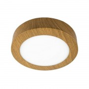 MasterLed - Plafon LED redondo Ø17x4cm 12W madeira - MasterLed