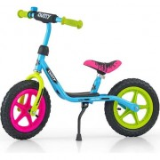Bicicleta pentru copii Milly Mally, Fara pedale, 12'', Multicolor