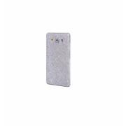 Folie autocolanta cu sclipici pentru Samsung A5 A500 2015, argintiu