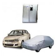 Autoplus car cover for Maruti Swift Dzire Car Body Cover silver