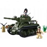 Building Blocks al doilea război mondial Seria BT-7 Allied Cavalerie Tank