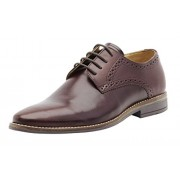 Brent Shoes Men's Burgundy Petrus Plain Leather Formals UK 45 / IND 11 (Regular Fit)