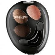 Deborah Milano HI-TECH Ombretto Trio trío de sombras de ojos para aplicar en húmedo o en mojado tono 13 Nude Beige